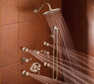 Multi Head Shower Installation - New Construction or Remodel